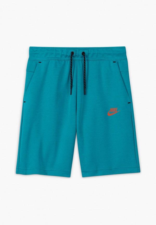 Шорты спортивные Nike синего цвета