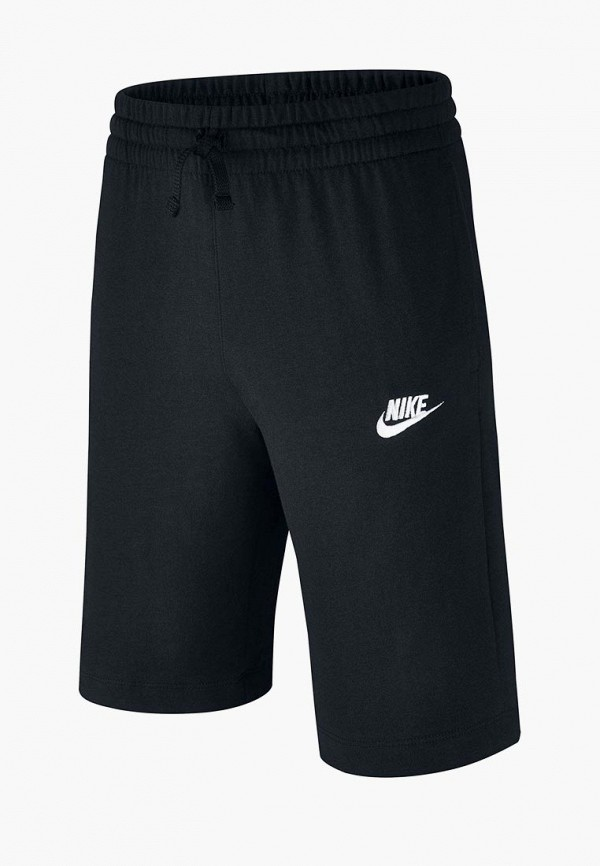 шорты nike для мальчика, черные