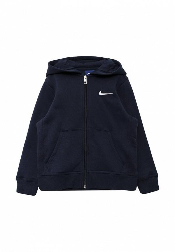 Купить Толстовка Nike, Boys' Nike Sportswear Hoodie, ni464ebuff27, синий, Осень-зима 2018/2019