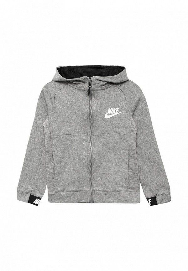 Купить Толстовка Nike, B NSW HOODIE FZ AV15, ni464ebuff71, серый, Весна-лето 2018