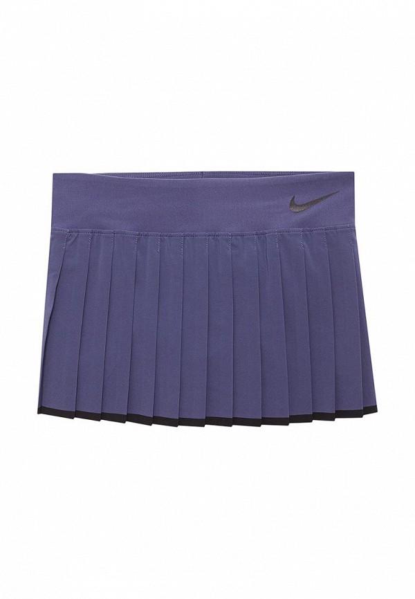 Купить Юбка-шорты Nike, GIRLS NKCT VICTORY SKIRT, NI464EGABBC0, синий, Весна-лето 2018