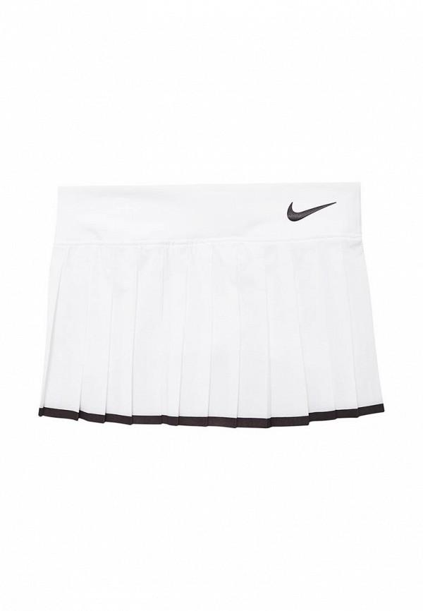 Купить Юбка Nike, GIRLS NKCT VICTORY SKIRT, NI464EGABBC1, белый, Весна-лето 2018