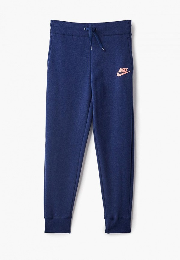Купить Брюки спортивные Nike, ni464egclsu1, синий, Осень-зима 2018/2019