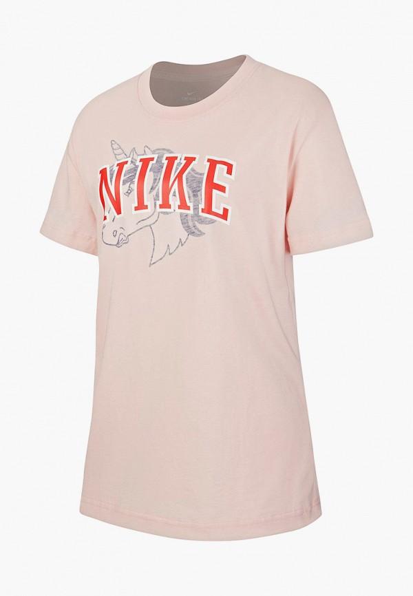Фото - Футболку Nike розового цвета