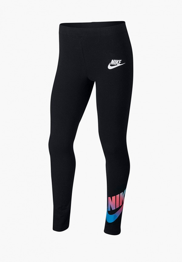 Фото - Леггинсы Nike черного цвета