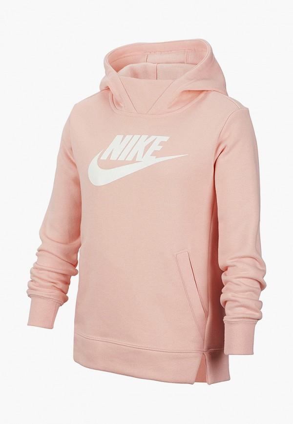 худи nike для девочки, розовые