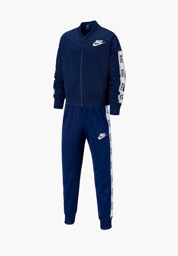 спортивный костюм nike для девочки, синий