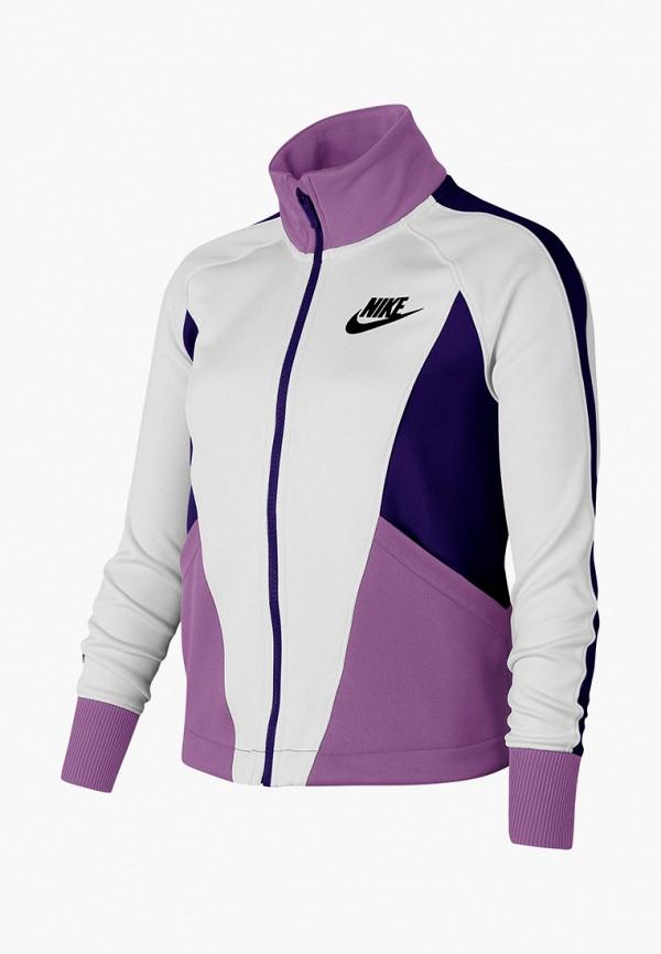 олимпийка nike для девочки, фиолетовая