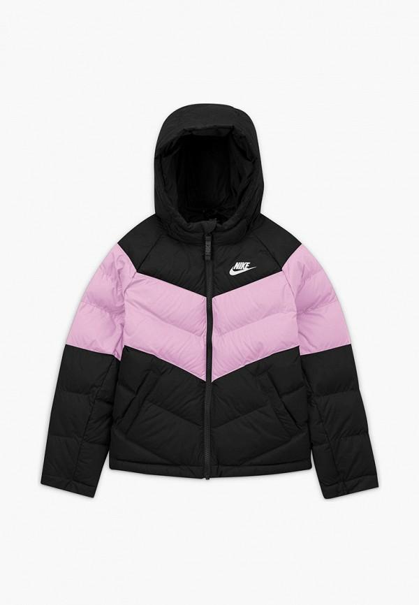 куртка nike для девочки, разноцветная