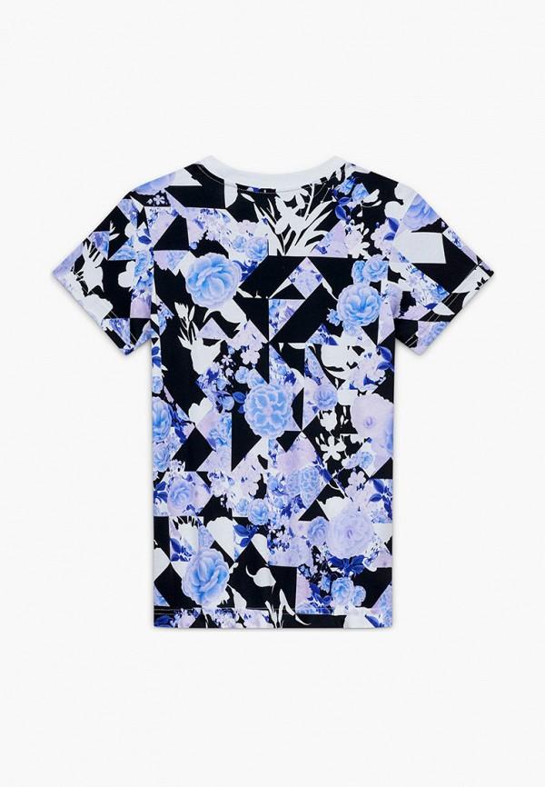 футболка с коротким рукавом nike для девочки, фиолетовая