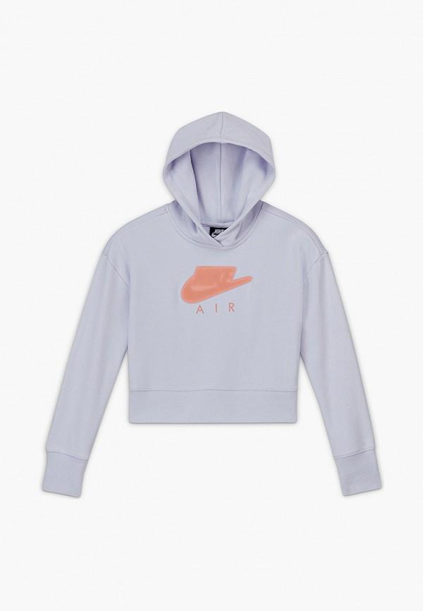 Худи Nike фиолетового цвета