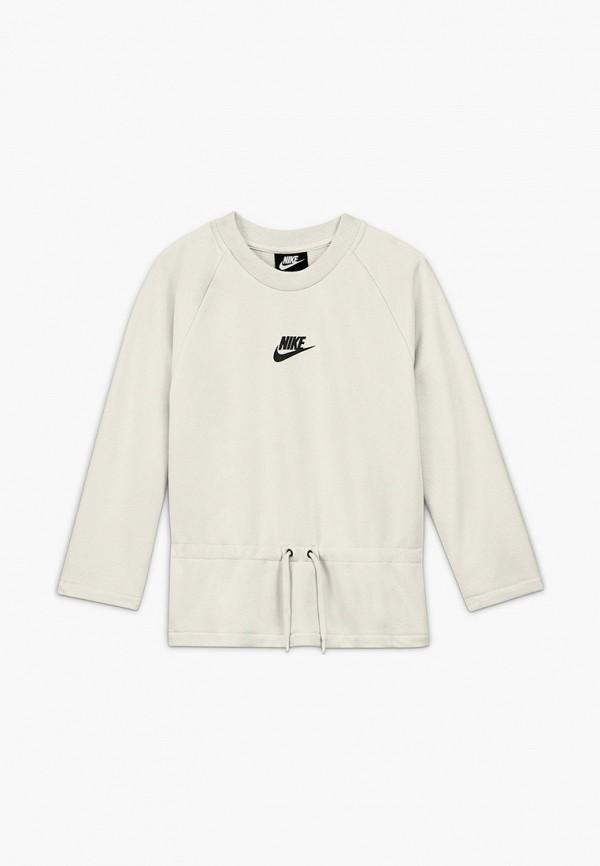 Свитшот Nike белого цвета