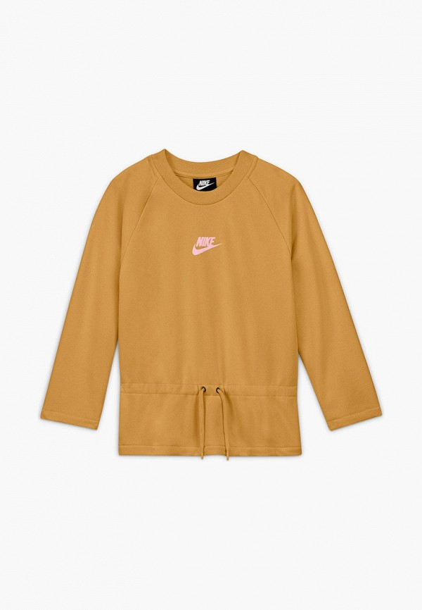 Свитшот Nike коричневого цвета