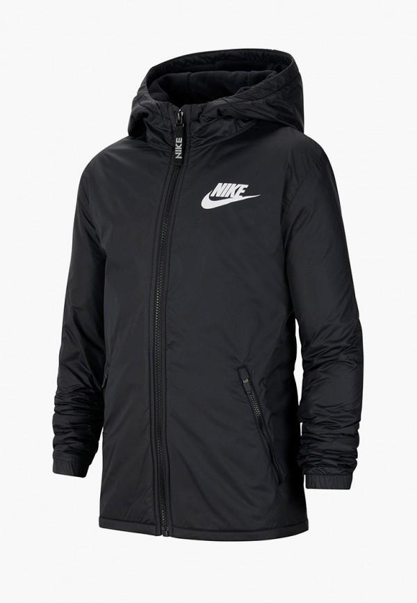 куртка nike малыши, черная