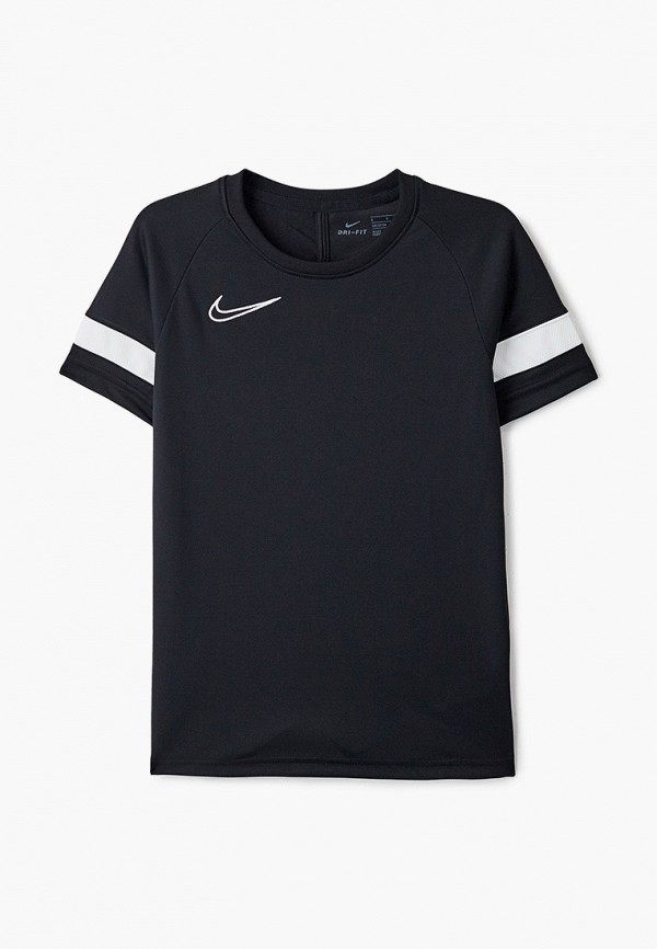 футболка nike малыши, черная