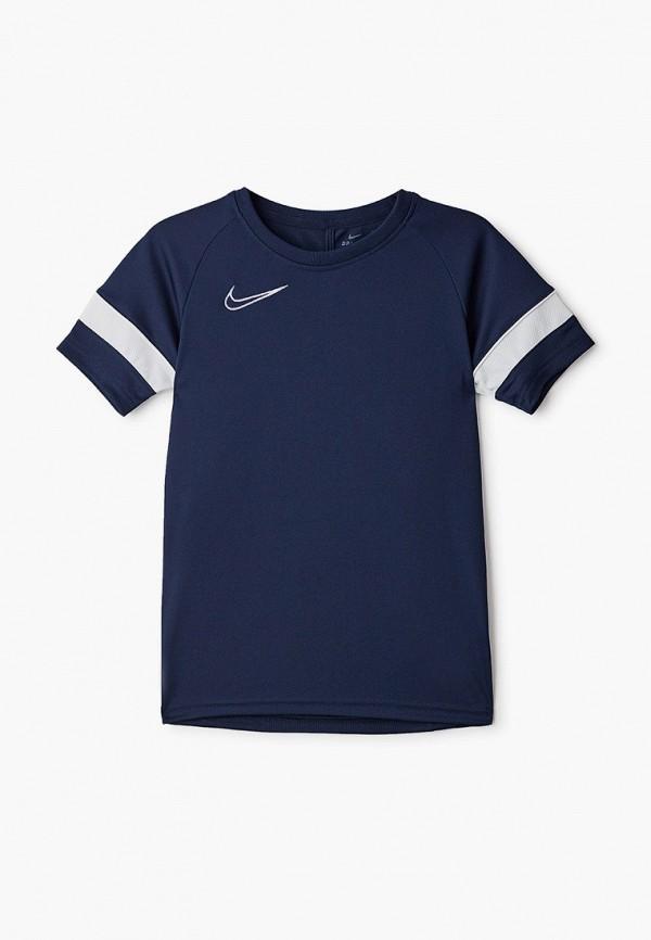 футболка с коротким рукавом nike малыши, синяя