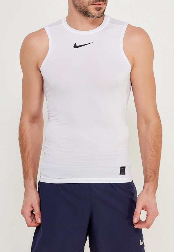 Купить Майка спортивная Nike, Men's Nike Pro Top, ni464emaabs6, белый, Весна-лето 2018
