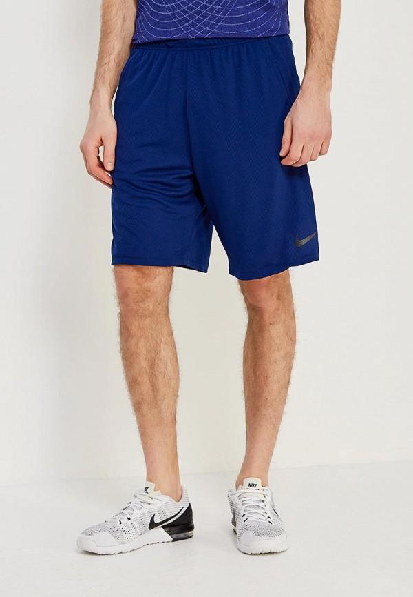 мужские спортивные спортивные шорты nike, синие