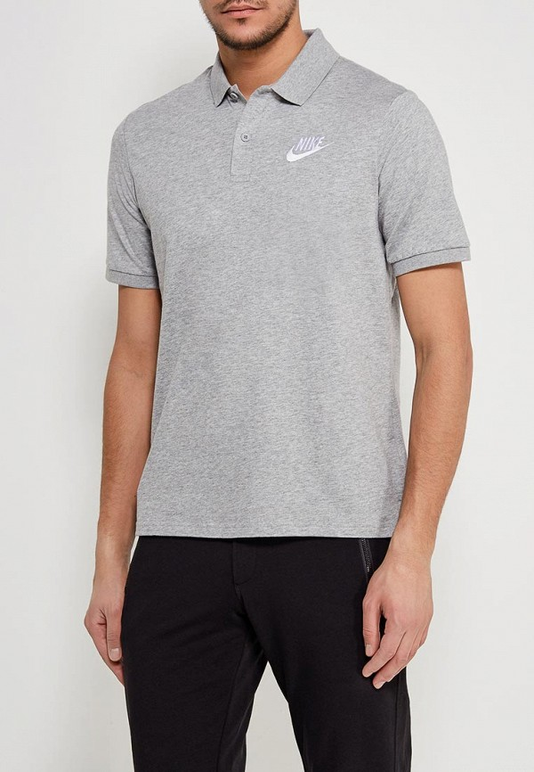 Купить Поло Nike, Men's Nike Sportswear Polo, ni464emaacu0, серый, Весна-лето 2018