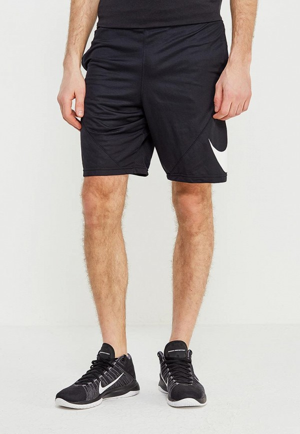 мужские спортивные спортивные шорты nike, черные