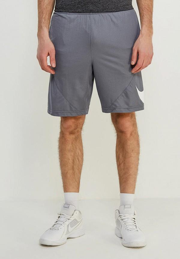 мужские спортивные спортивные шорты nike, серые