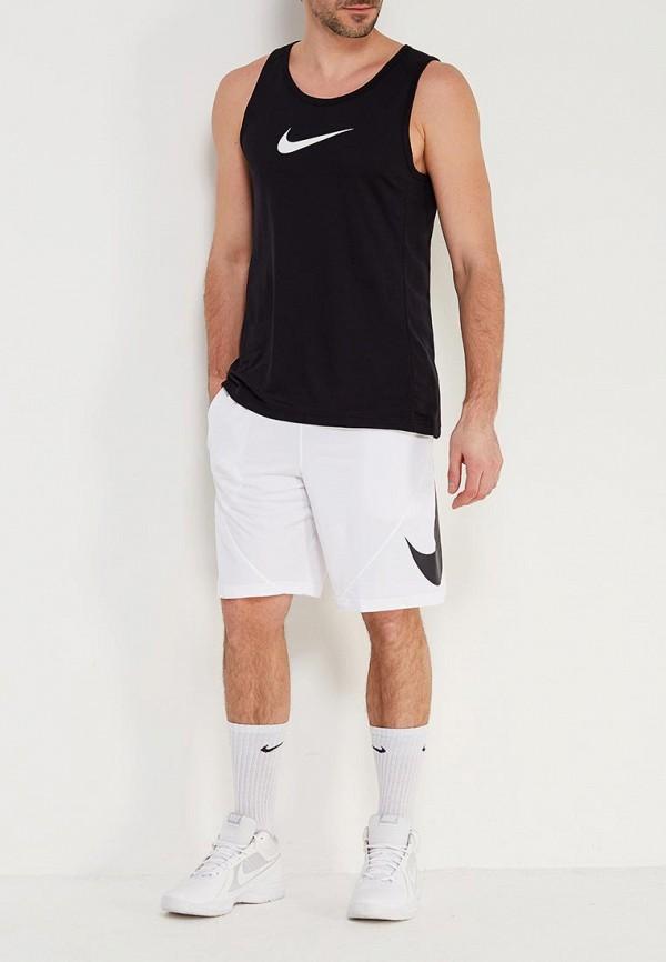 Фото 2 - Майку спортивная Nike черного цвета