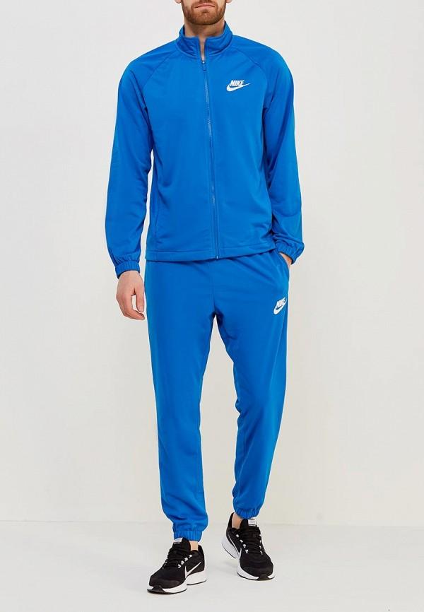 Купить Костюм спортивный Nike, M NSW TRK SUIT PK BASIC, NI464EMAADG9, синий, Весна-лето 2018