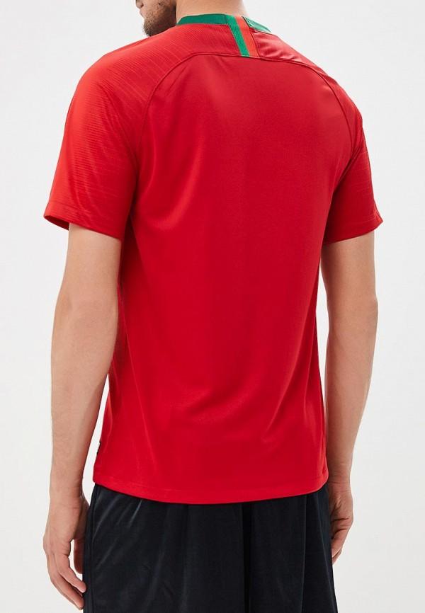 Фото 3 - Футболку спортивная Nike красного цвета