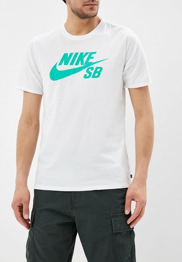 Купить Футболка Nike, Nike SB Men's T-Shirt, NI464EMBBIX6, белый, Весна-лето 2018