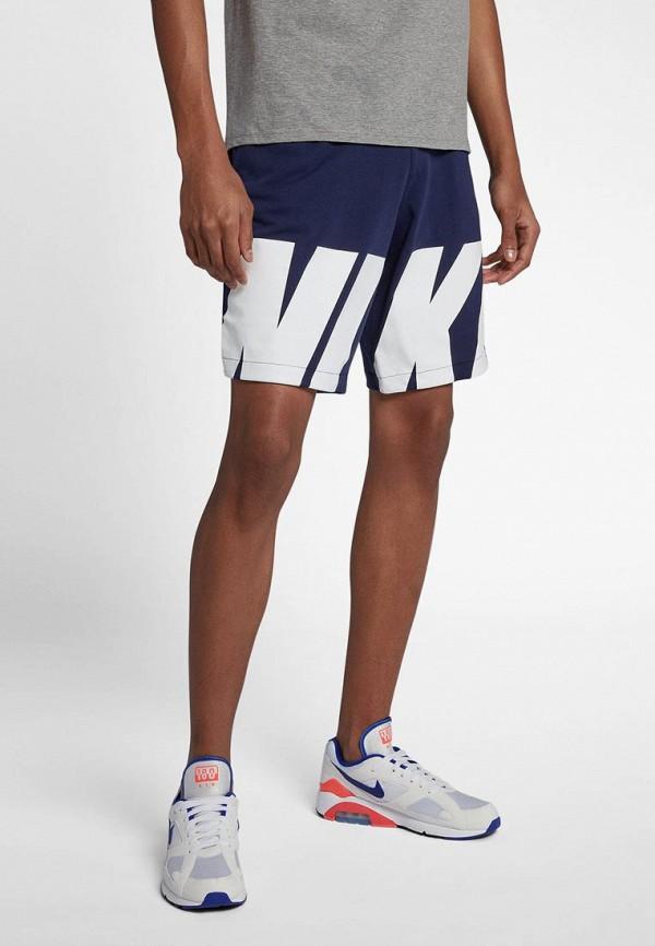 Купить Шорты спортивные Nike, M NSW SHORT HYBRID, NI464EMBBJC4, синий, Весна-лето 2018