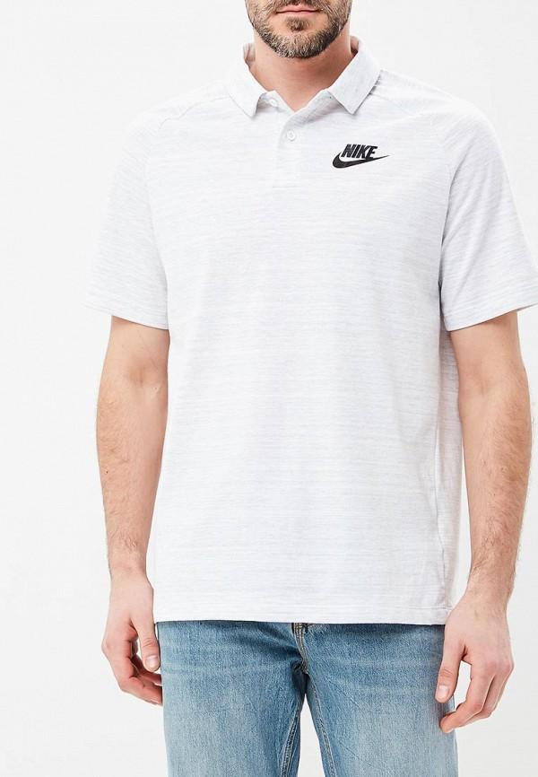 Купить Поло Nike, M NSW AV15 POLO KNIT, NI464EMBBJE8, серый, Весна-лето 2018