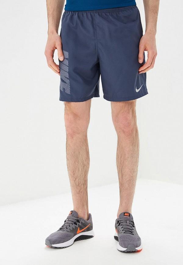 Купить Шорты спортивные Nike, M NK DRY SHORT 7IN RUN GX, NI464EMBBJO4, синий, Весна-лето 2018