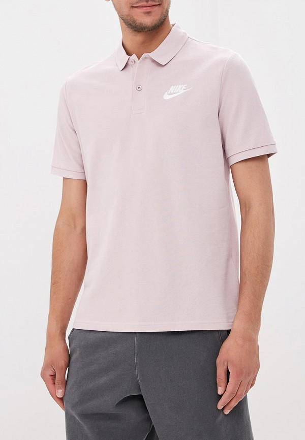 Купить Поло Nike, Men's Nike Sportswear Polo, NI464EMBBJP2, розовый, Весна-лето 2018