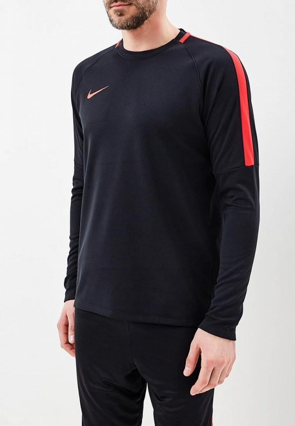 Купить Лонгслив спортивный Nike, Men's Nike Dry Academy Football Crew Top, NI464EMBBJU1, черный, Весна-лето 2018