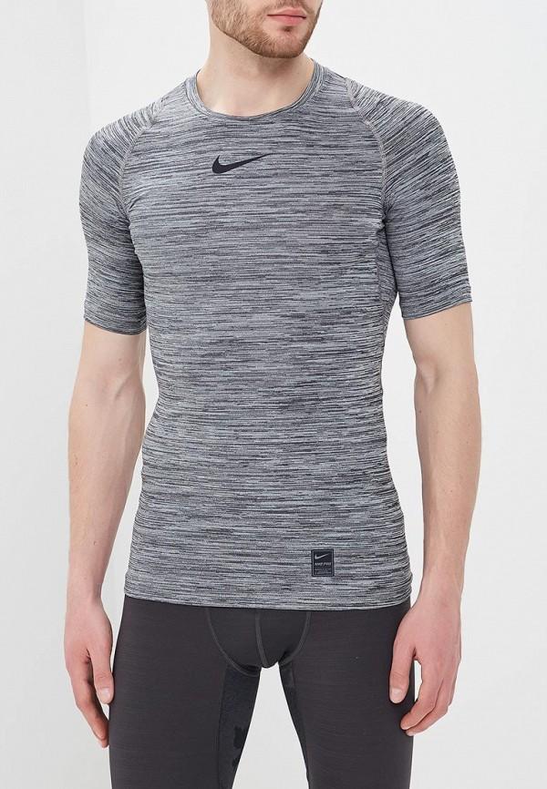 Футболка компрессионная Nike Nike NI464EMBBJW9 2xu fliserma1982a компрессионная мужская