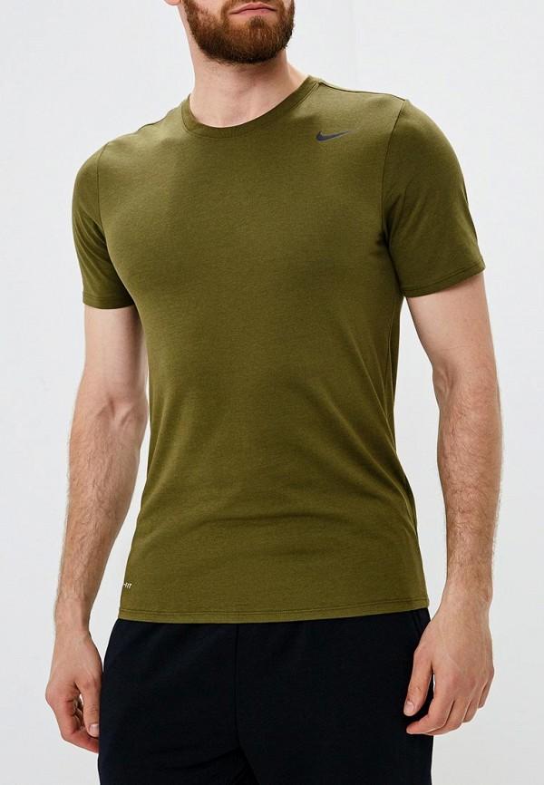 Купить Футболка спортивная Nike, Men's Nike Dry Training T-Shirt, ni464embwdh7, хаки, Осень-зима 2018/2019