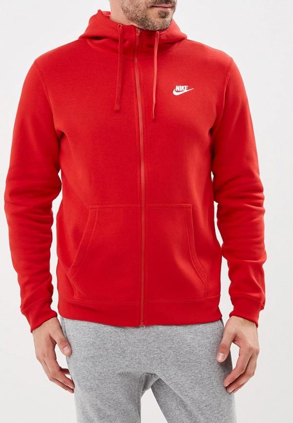 Купить Толстовка Nike, Nike Sportswear Men's Hoodie, NI464EMBWDJ0, красный, Осень-зима 2018/2019