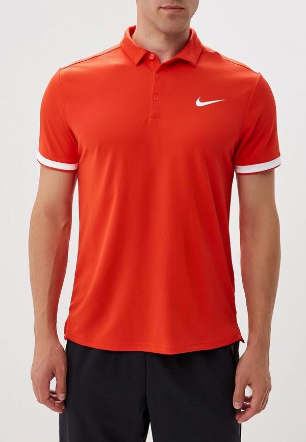 Купить Поло Nike, NikeCourt Dry Men's Tennis Polo, ni464embwdk5, красный, Осень-зима 2018/2019