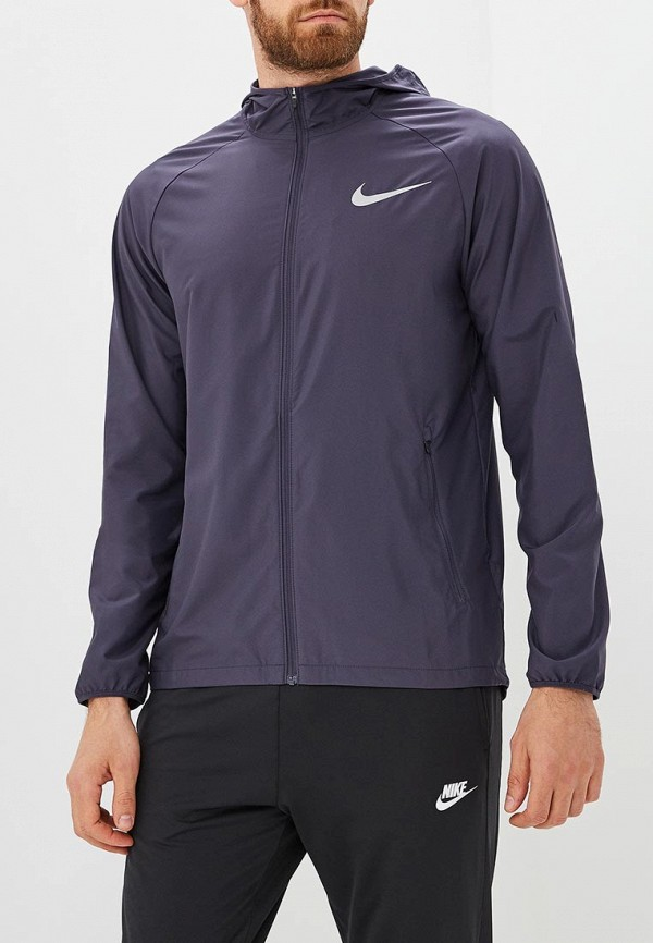 Купить Ветровка Nike, Men's Nike Essential Hooded Running Jacket, NI464EMBWDN2, синий, Осень-зима 2018/2019