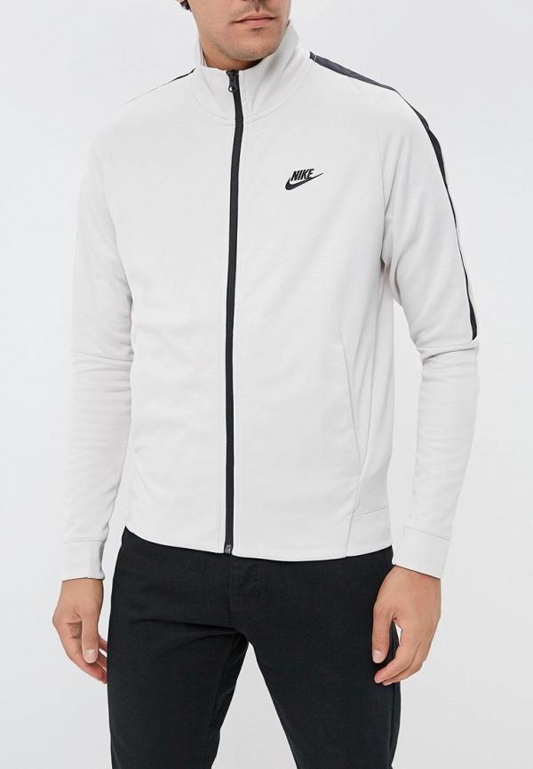 Олимпийка  серый цвета