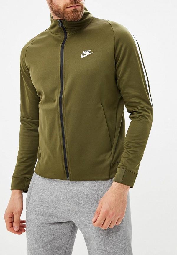 Купить Олимпийка Nike, Men's Nike Sportswear N98 Jacket, NI464EMBWDN7, хаки, Осень-зима 2018/2019