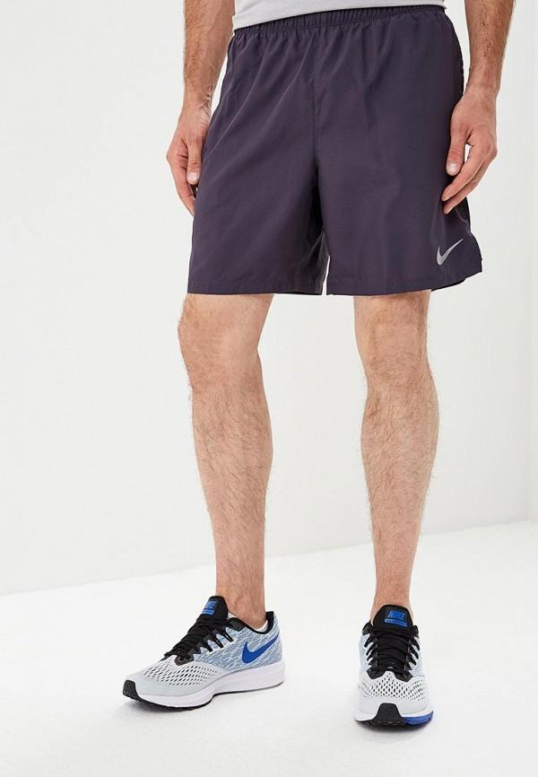 Купить Шорты спортивные Nike, M NK CHLLGR SHORT BF 7IN, NI464EMBWHJ3, синий, Осень-зима 2018/2019