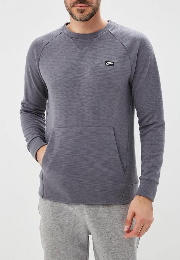 Купить Свитшот Nike, M NSW OPTIC CRW, NI464EMBWHX5, серый, Осень-зима 2018/2019