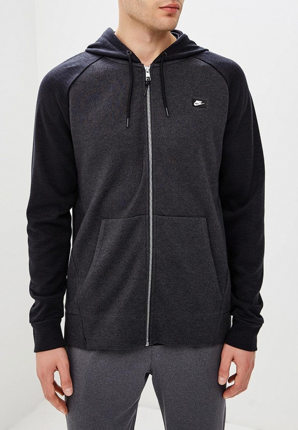 Фото - мужскую толстовку Nike черного цвета