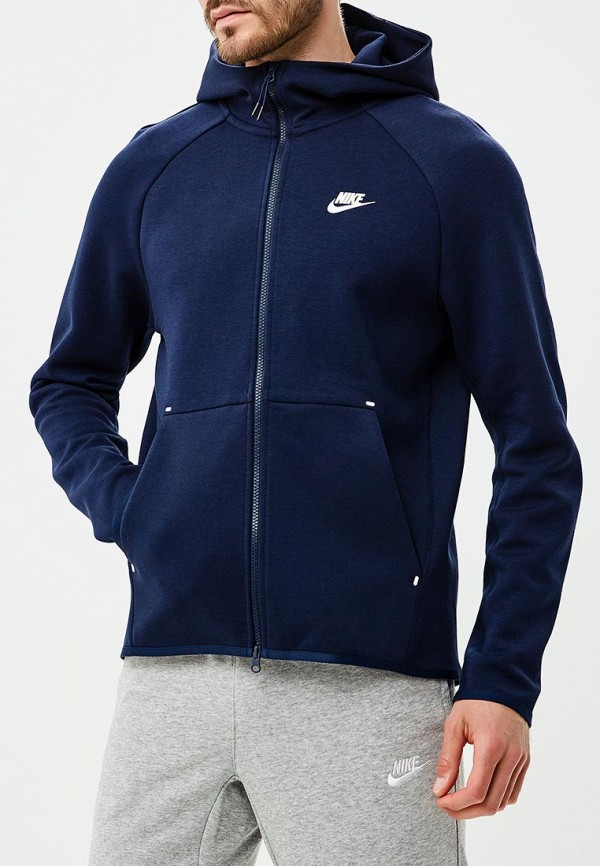 Купить Толстовка Nike, Nike Sportswear Tech Fleece Men's Full-Zip Hoodie, ni464embwhy4, синий, Осень-зима 2018/2019