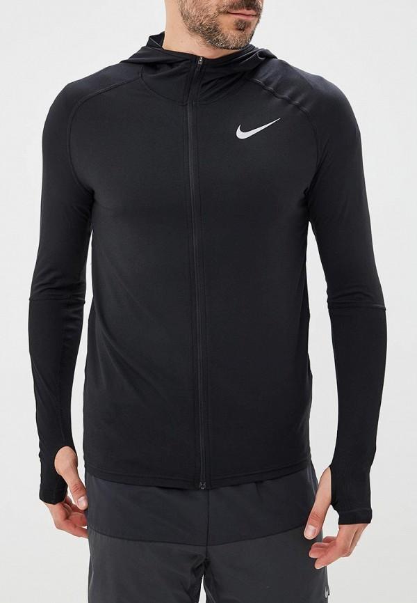 Купить Толстовка Nike, M NK ELEMENT FZ HOODIE, NI464EMBWIA4, черный, Осень-зима 2018/2019