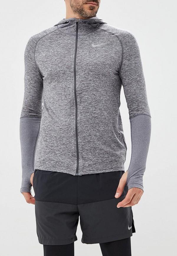 Купить Толстовка Nike, M NK ELEMENT FZ HOODIE, NI464EMBWIA5, серый, Осень-зима 2018/2019