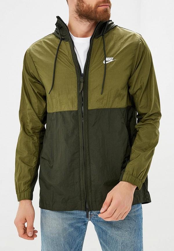Купить Ветровка Nike, M NSW JKT HD WVN, NI464EMBWIE4, хаки, Осень-зима 2018/2019