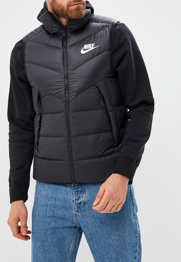 Купить Жилет утепленный Nike, Nike Sportswear Windrunner Men's Down Fill Vest, ni464embwie5, черный, Осень-зима 2018/2019