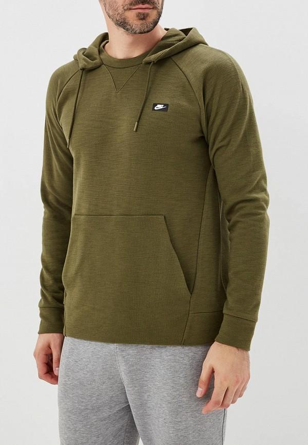 Купить Худи Nike, M NSW OPTIC HOODIE PO, NI464EMBWIG2, серый, Осень-зима 2018/2019